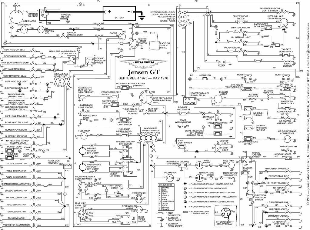 jensen vm9412 car wiring diagrams  schematic wiring diagram