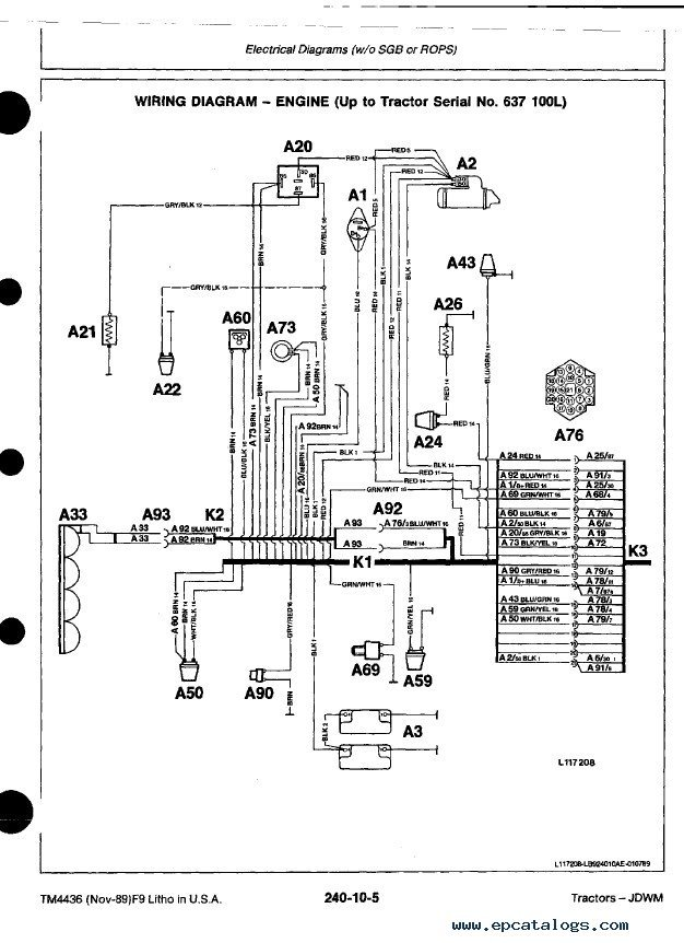 John Deere 5205 Wiring Diagram from diagramweb.net
