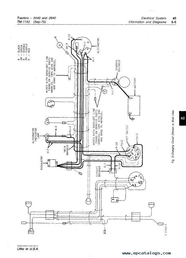 Jd 2640 Wiring Diagram | Wiring Diagram Farmtrac Wiring Diagrams on
