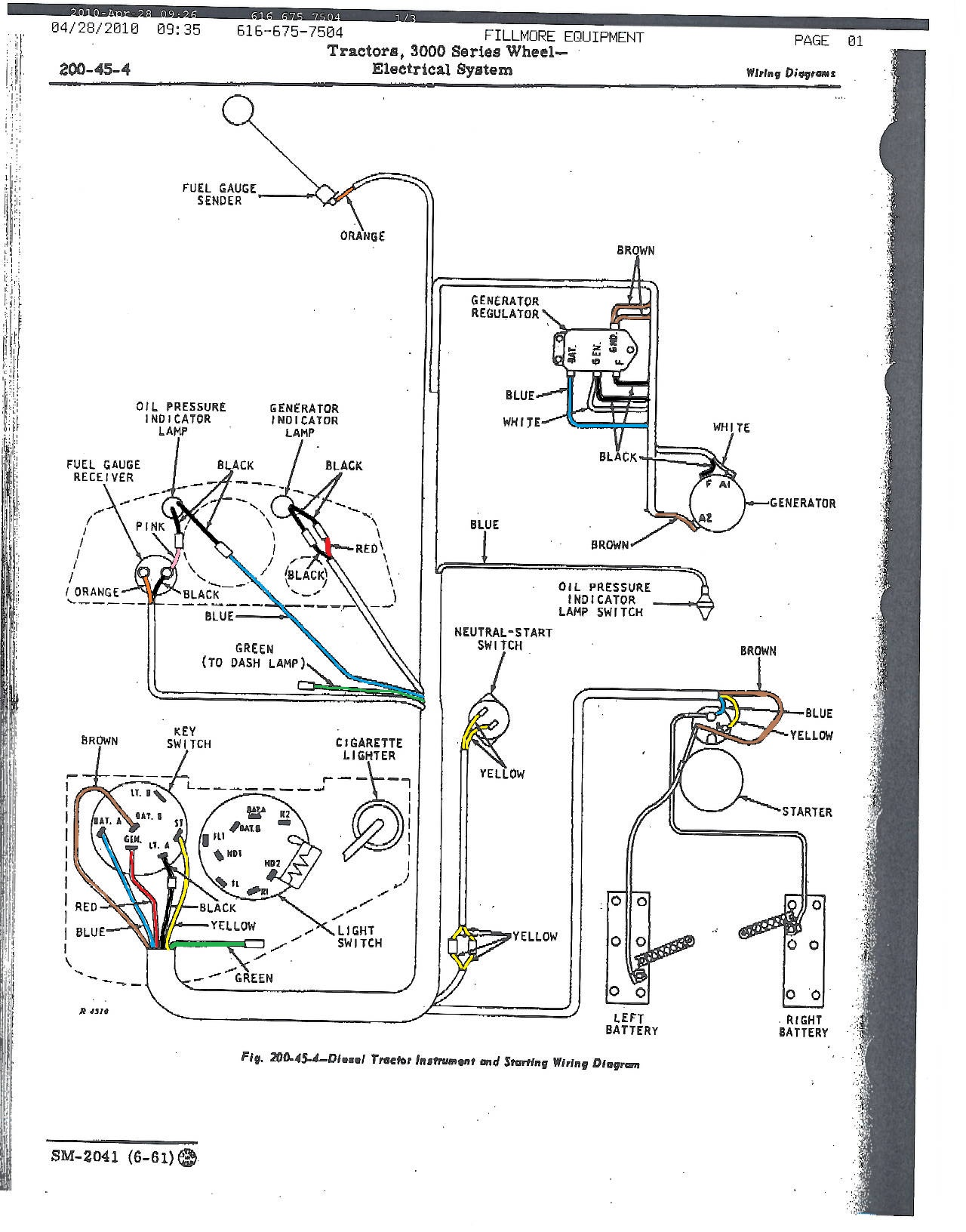 john-deere-3010-starter-switch-wiring-diagram-12 Jd Wiring Diagram on