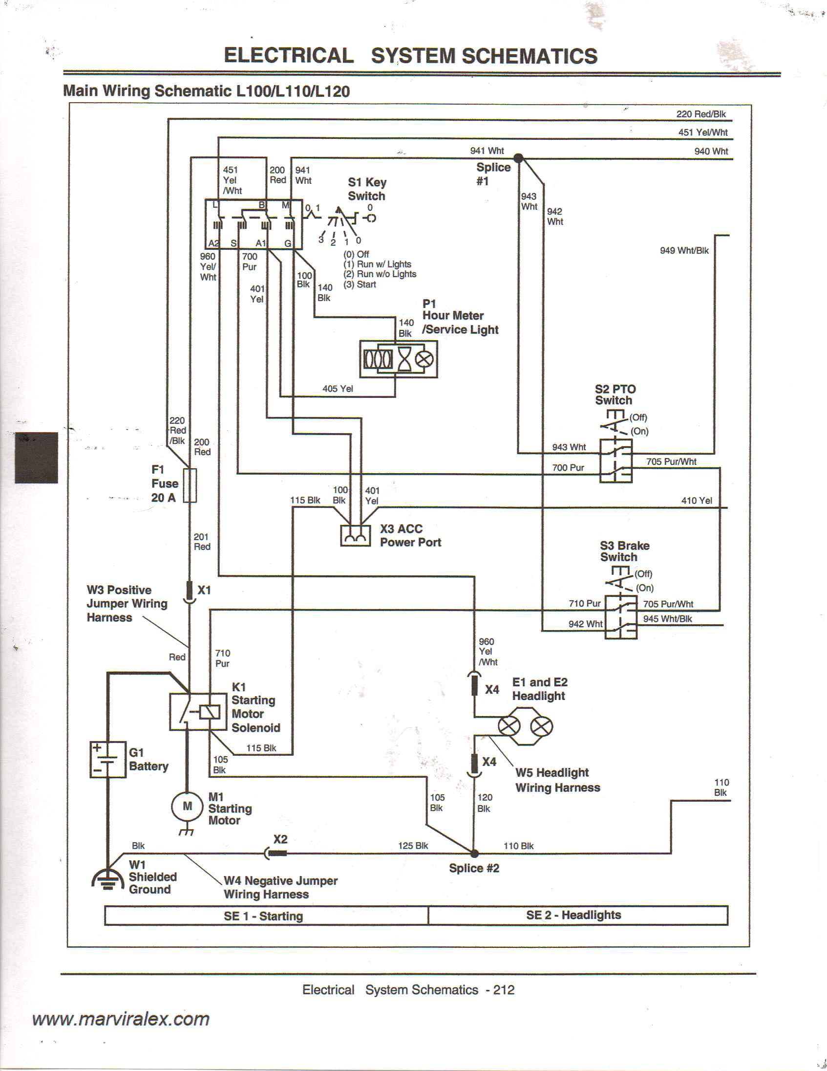Pto Clutch John Deere L120 Wiring Diagram from diagramweb.net