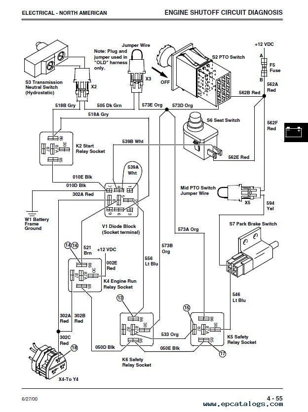 John Deere Lv 4700 Tractor Wiring Diagram