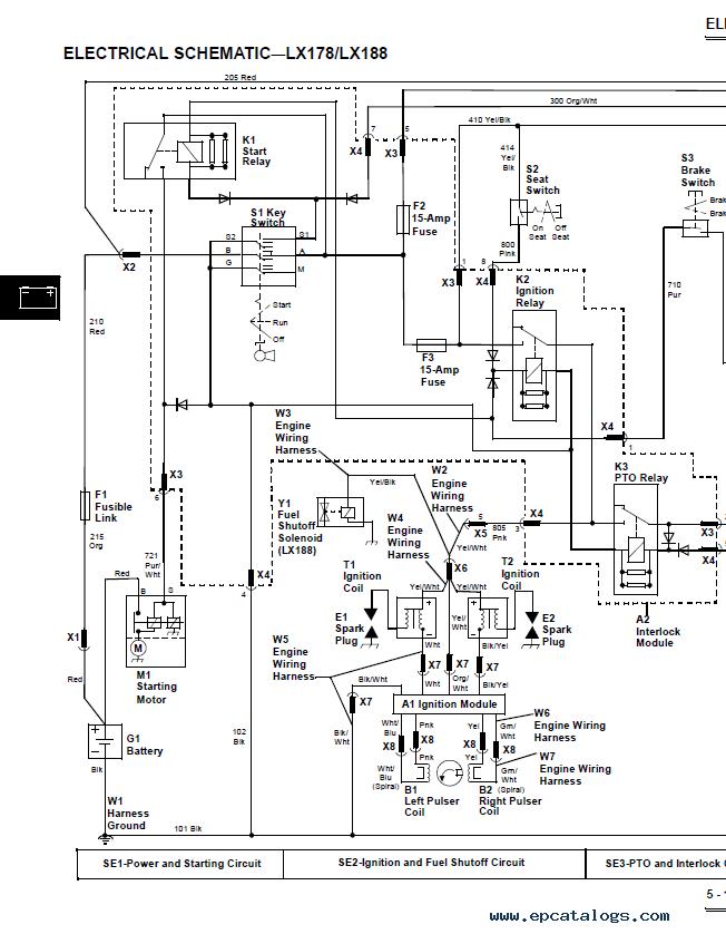John Deere Lx188 Wiring Diagram