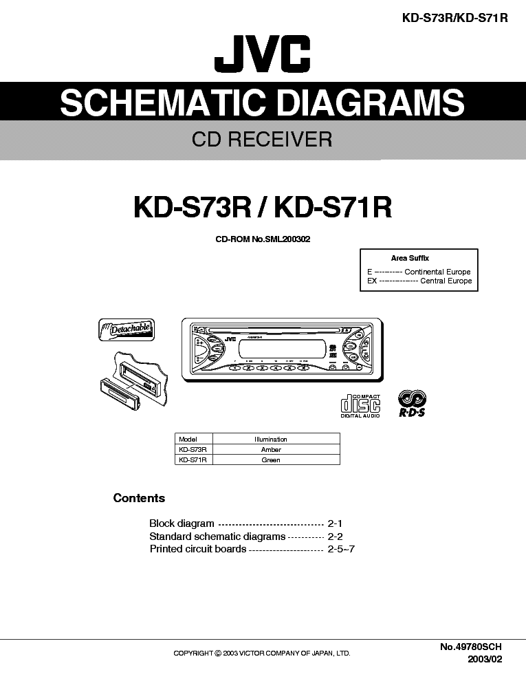 Jvc Kd 60rbt Wiring Diagram