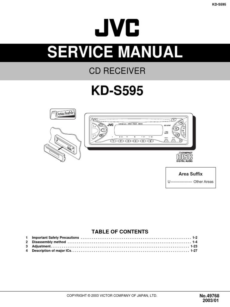 Jvc Kd R336 Wiring Diagram Manual Guide
