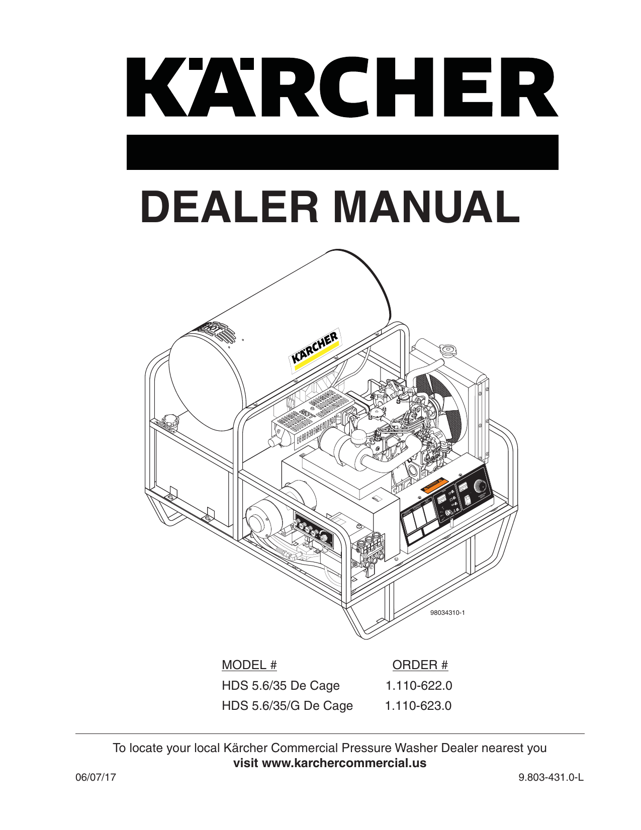 Karcher Skid Unit Fuel Pump Wiring Diagram on