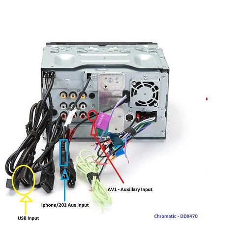 Kenwood Ddx470 Wiring Harness