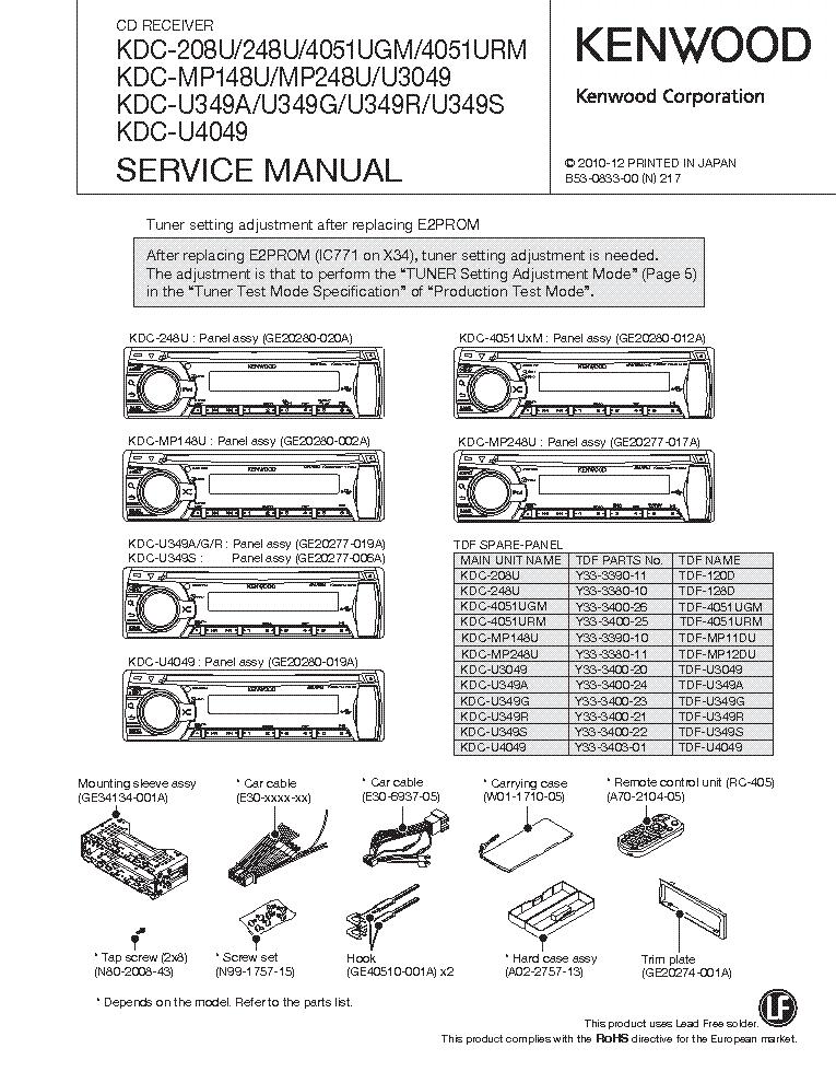 Kenwood Cd Player Wiring Diagram