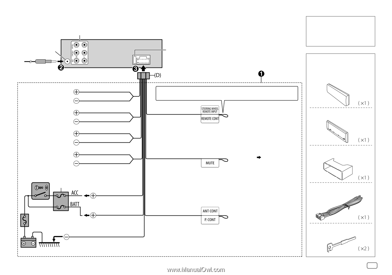 Wiring Diagram For Kenwood Kdc 248U from diagramweb.net