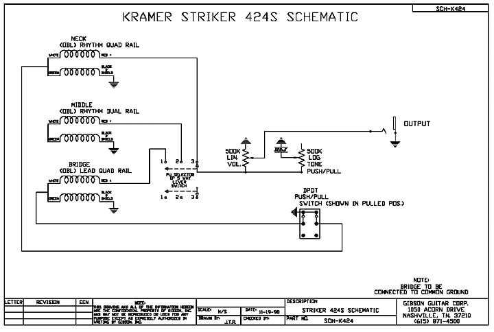 Kramer Thermobank Wiring Diagram