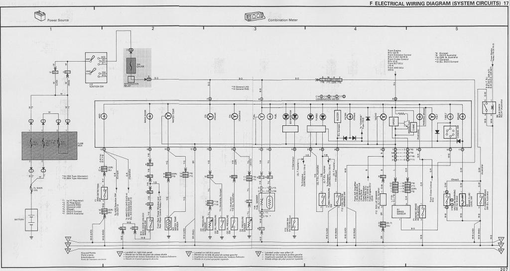 Toyota 1kz Te Ecu Wiring Diagram