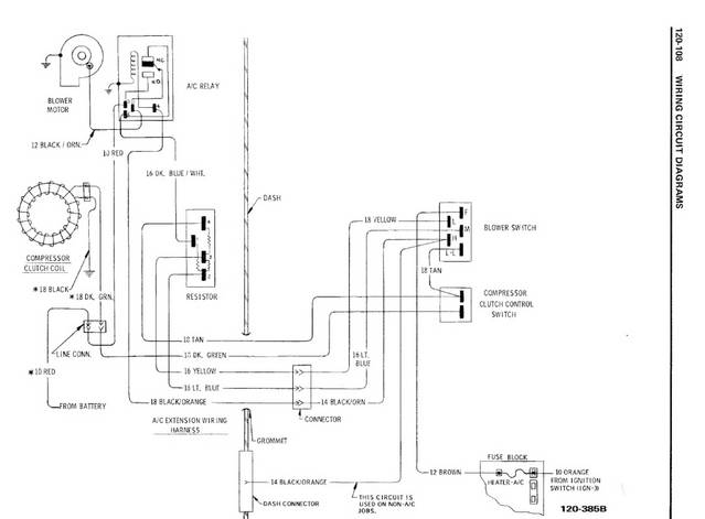 Chevelle Wiring Diagram from diagramweb.net