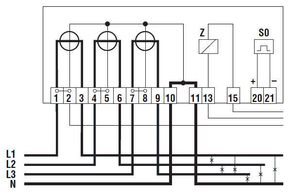 Landis Gyr Wiring Diagram