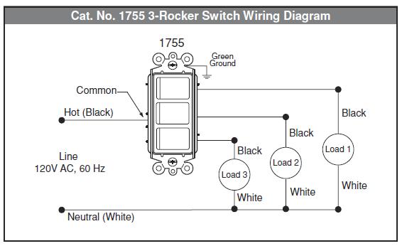 Leviton 1755 Wiring Diagram