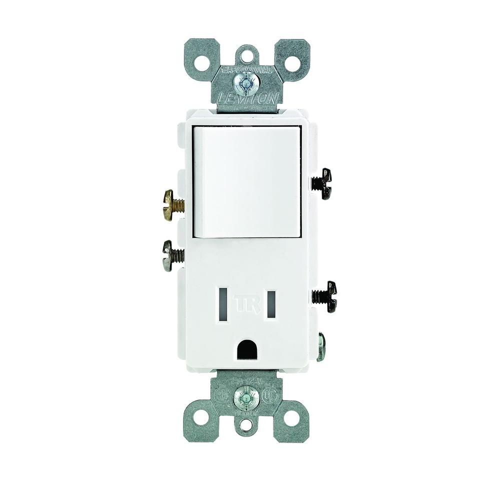 Leviton Combination Switch And Tamper Resistant Outlet Wiring Diagram
