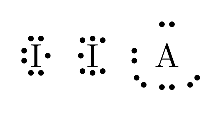 Lewis Dot Diagram Iodine