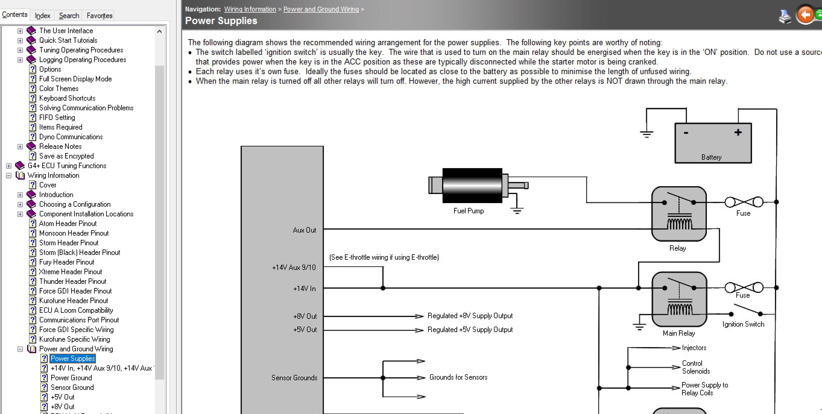 Link G4 Atom Wiring Diagram