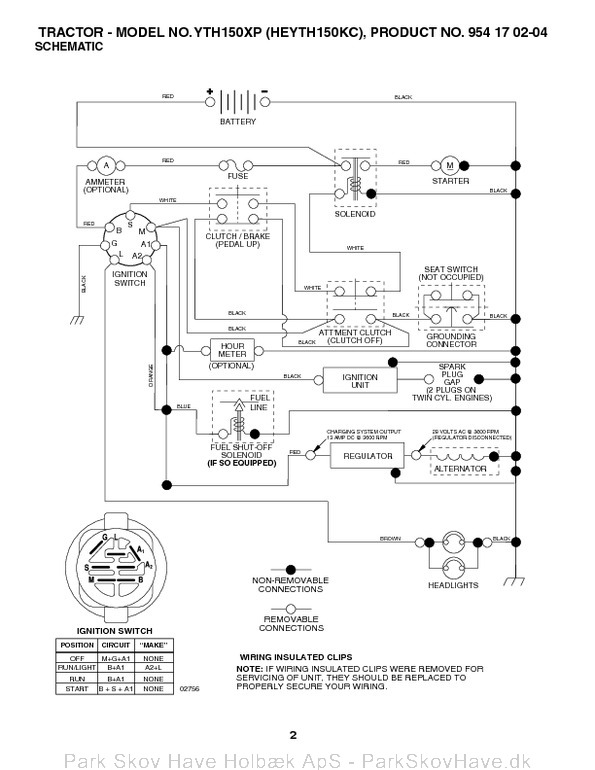 Lth130 Wiring Diagram
