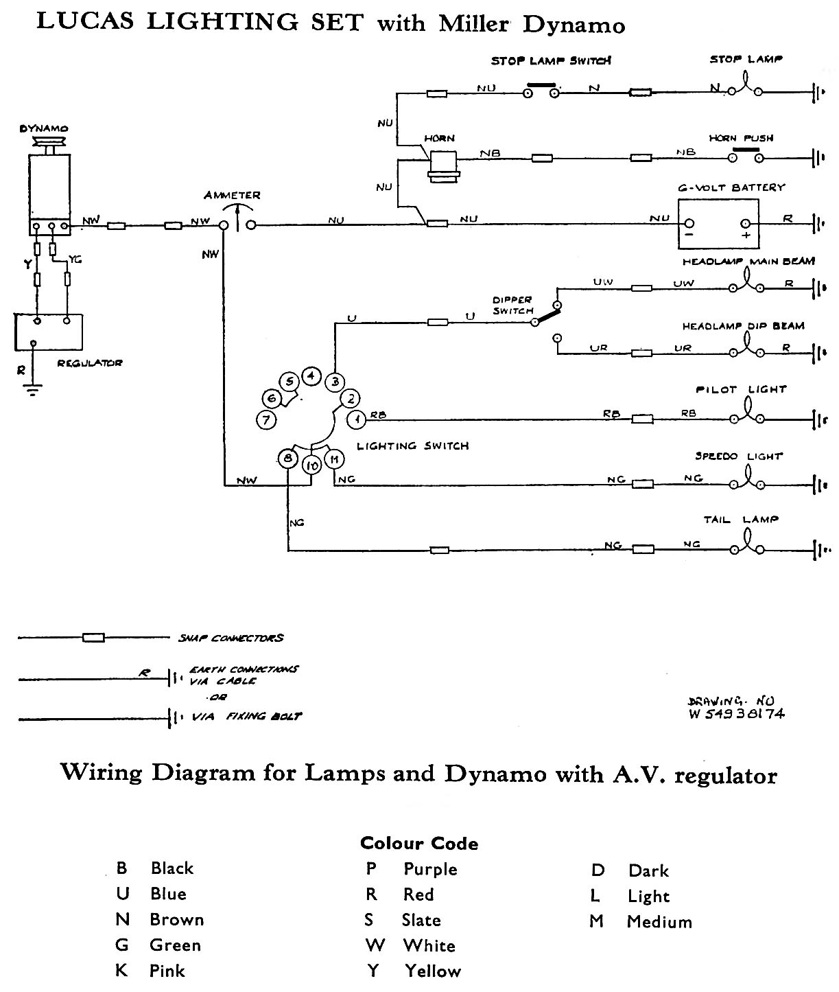 Lucas 77123a Wiring Diagram