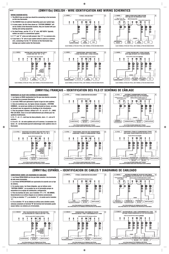 Luxpro Thermostat Psd111 Wiring Diagram