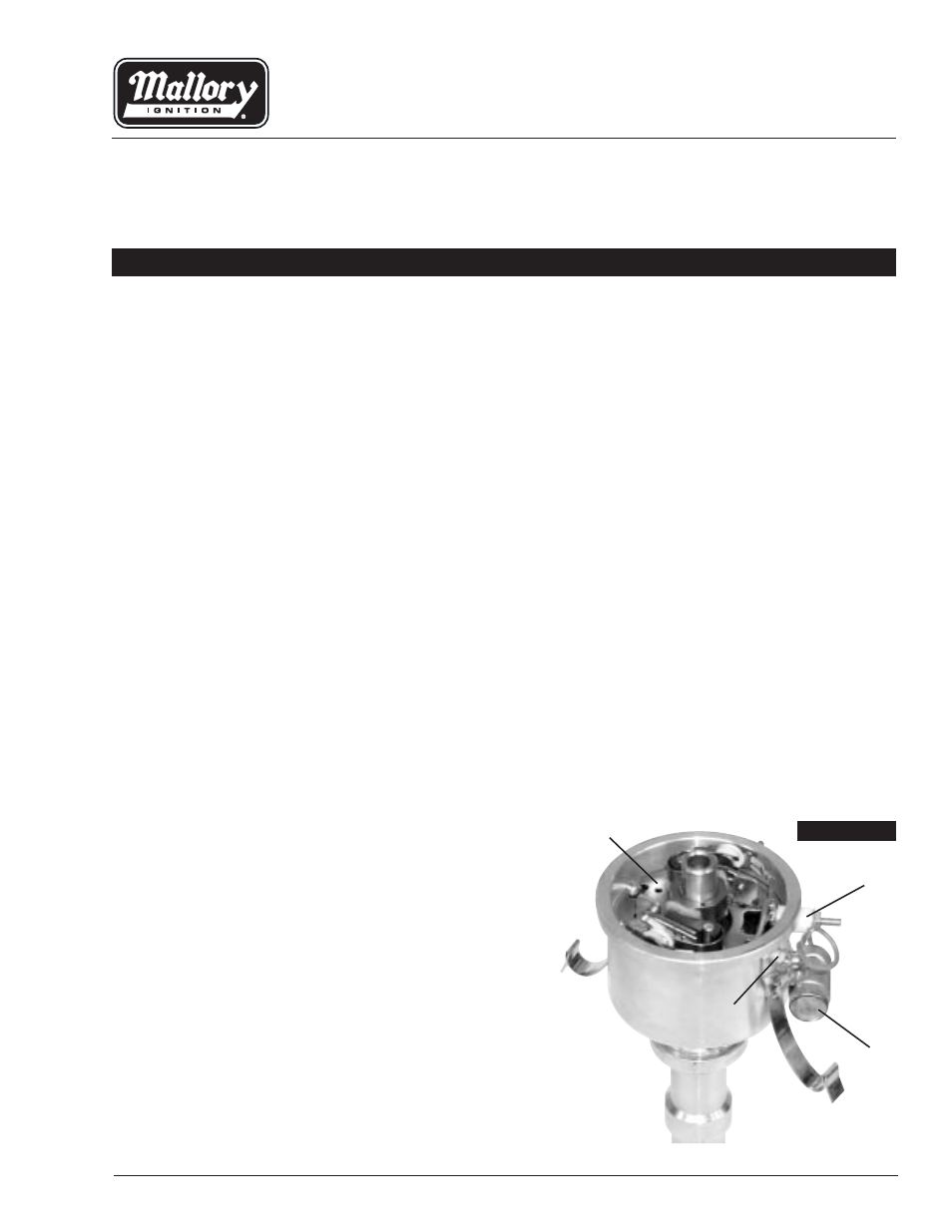 Mallory Breakerless Ignition Wiring Diagram