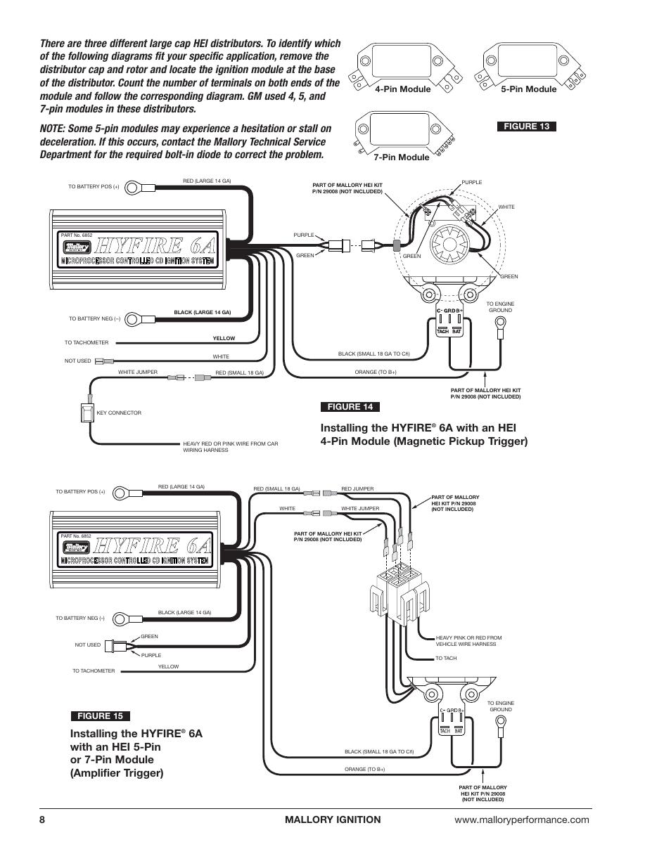 Mallory 6Al Wiring Diagram from diagramweb.net