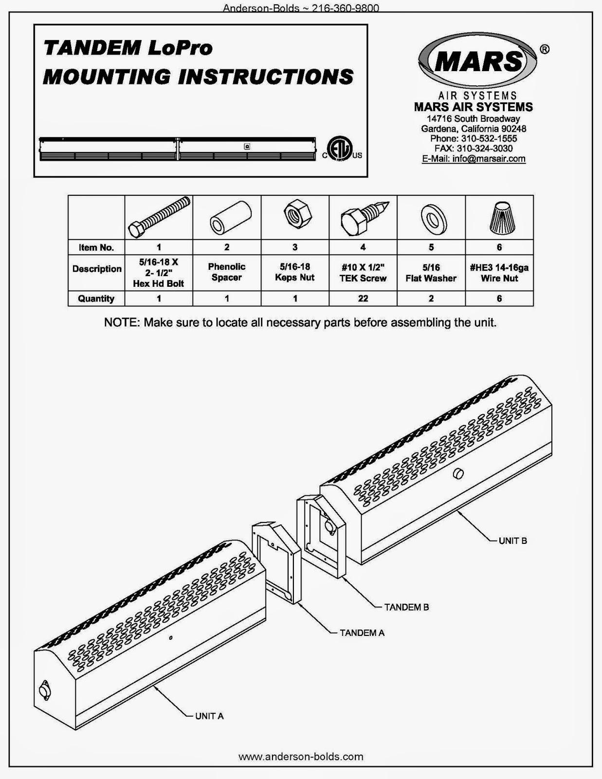 Mars Air Curtain Wiring Diagram Elpv36