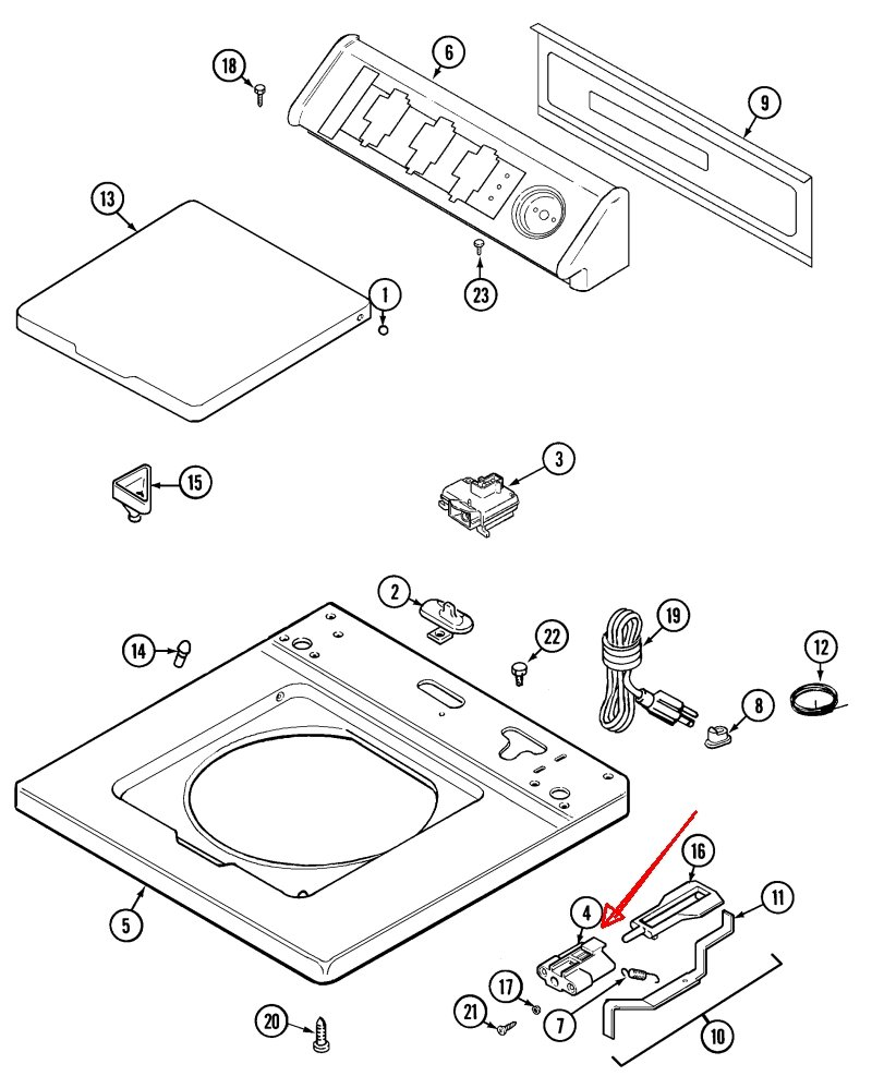 Maytag Bravos Washer Parts Diagram
