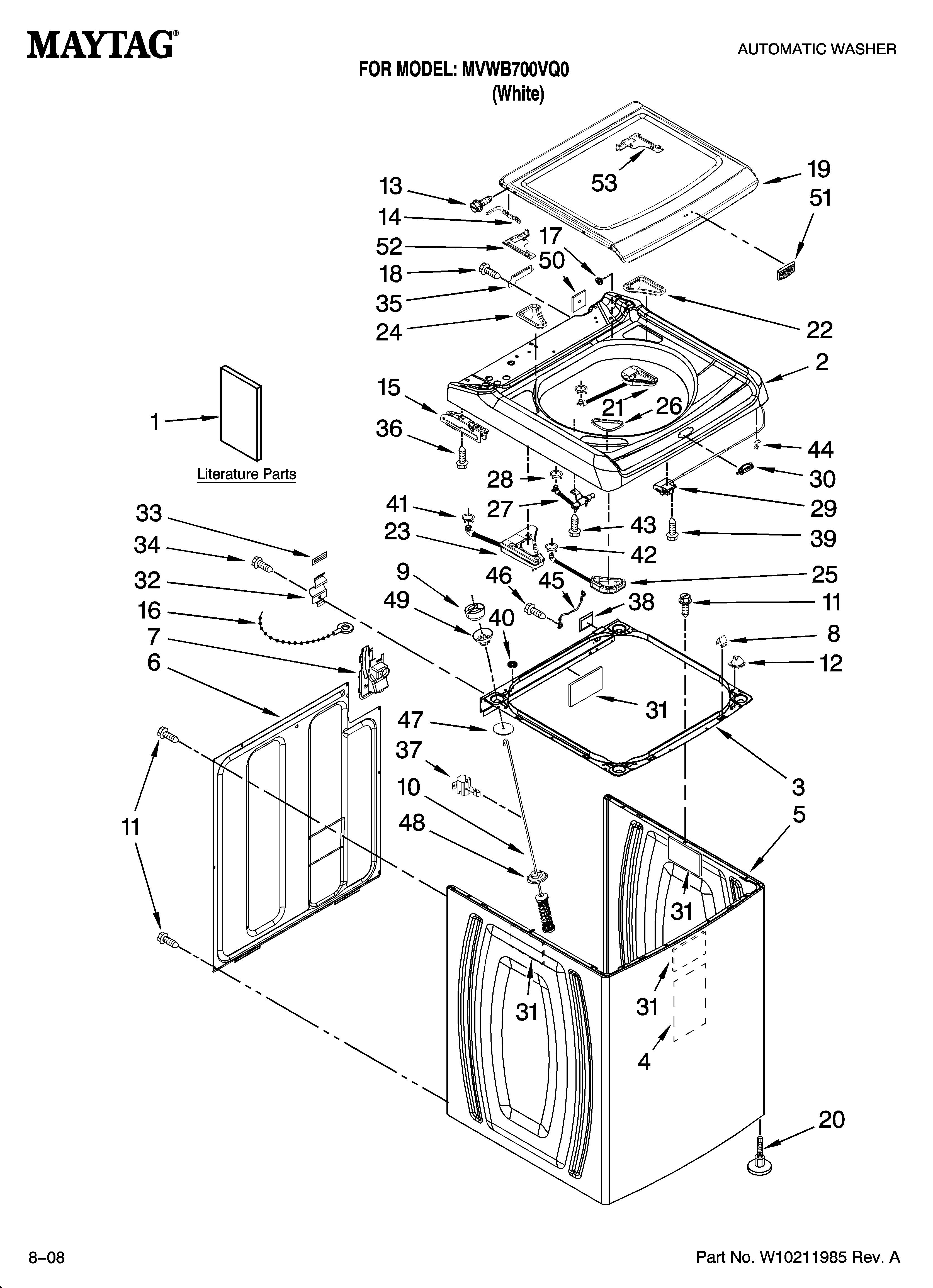 Maytag Wiring Diagrams