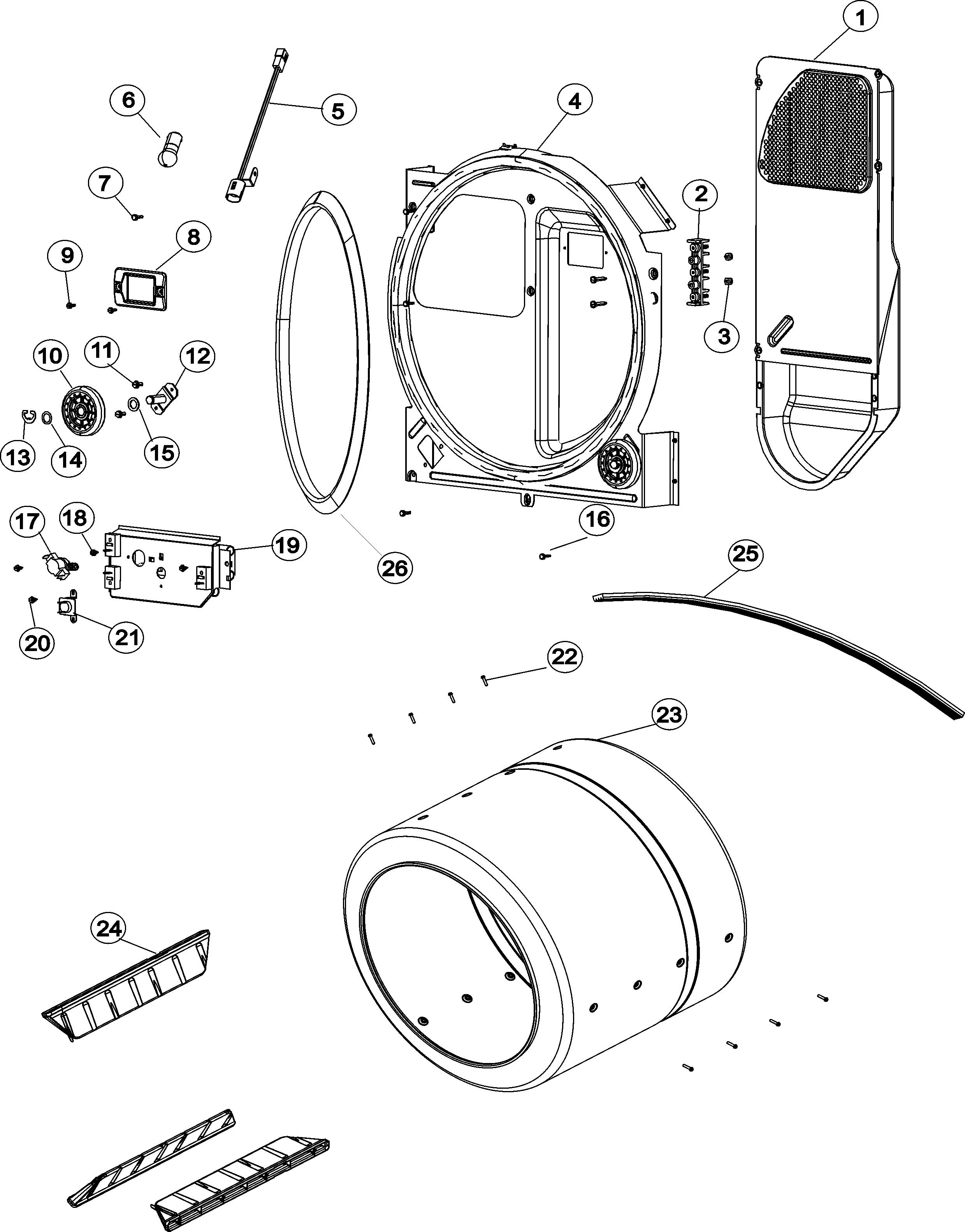 Maytag Neptune Dryer Parts Diagram