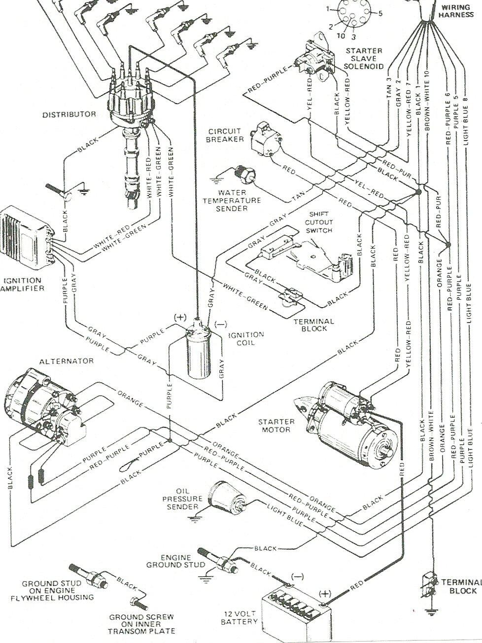 mercruiser 250ci ignition wiring diagram. Black Bedroom Furniture Sets. Home Design Ideas