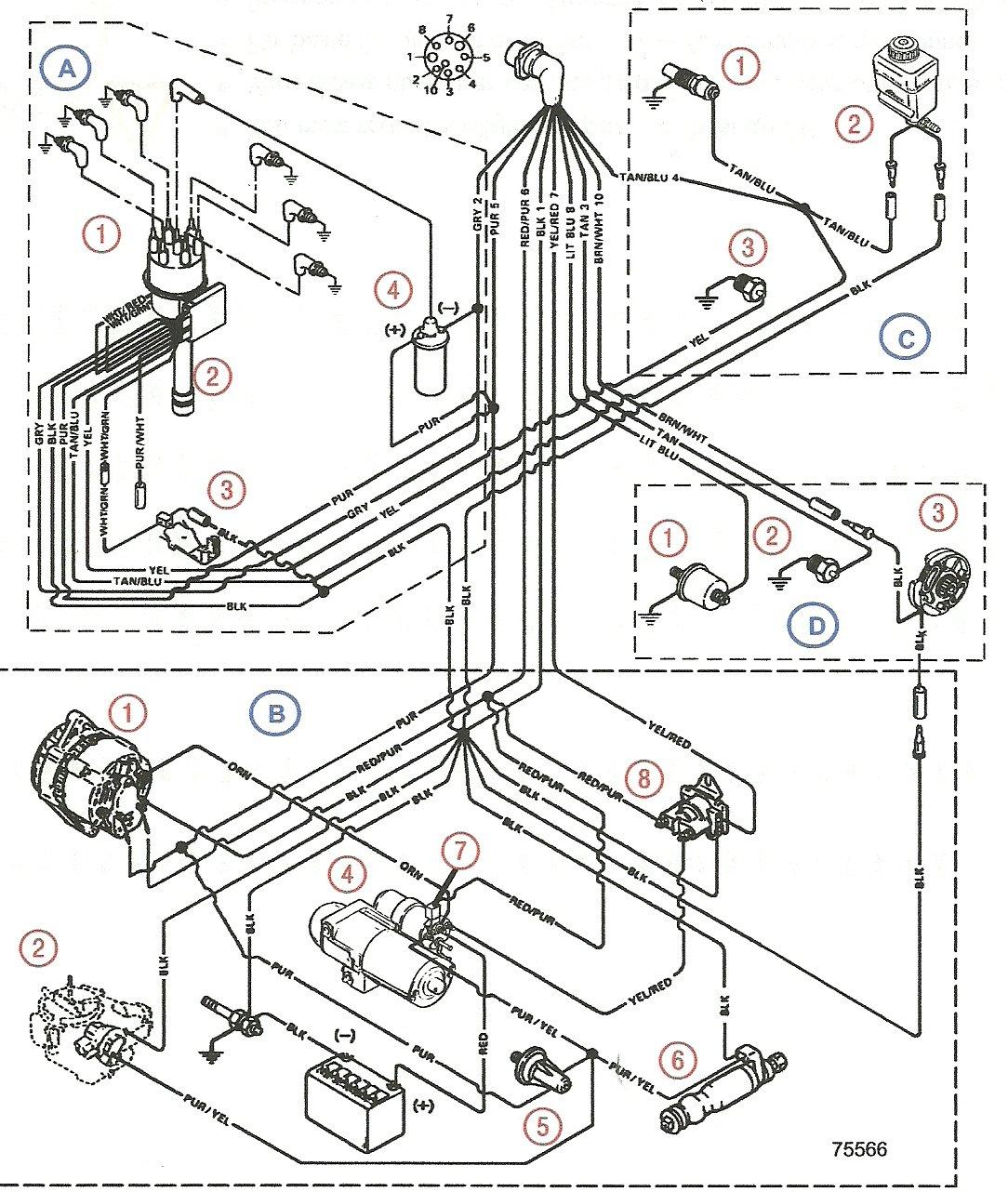 Mercruiser 140 Wiring Diagram - Wiring Diagrams Folder on