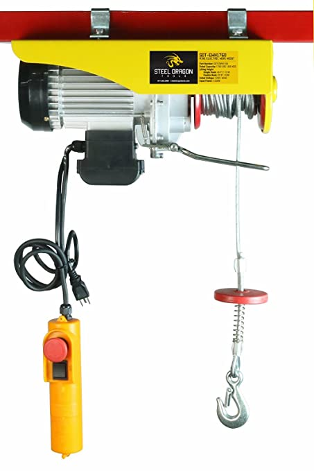 Mini Electric Wire Cable Hoist Winch Crane Lift Overhead + ... on harbor freight hoist system, harbor freight hoist repair, harbor freight hoist motor,