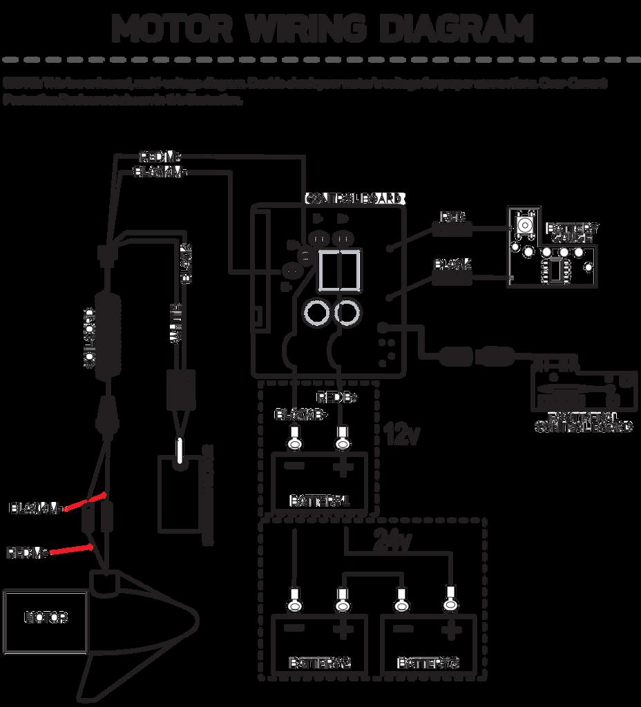Minn Kota 70 Lb Trolling Motor 24 Volt Wiring Diagram