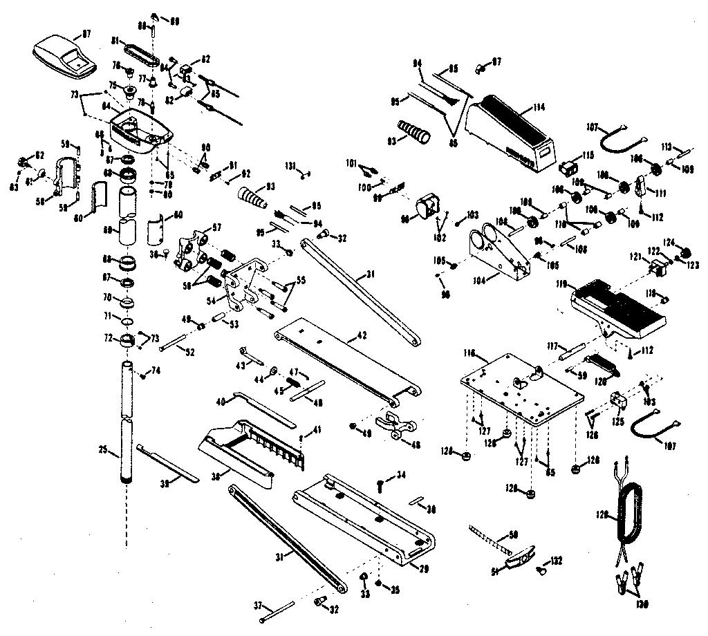 minn kota fortrex 101 parts diagram