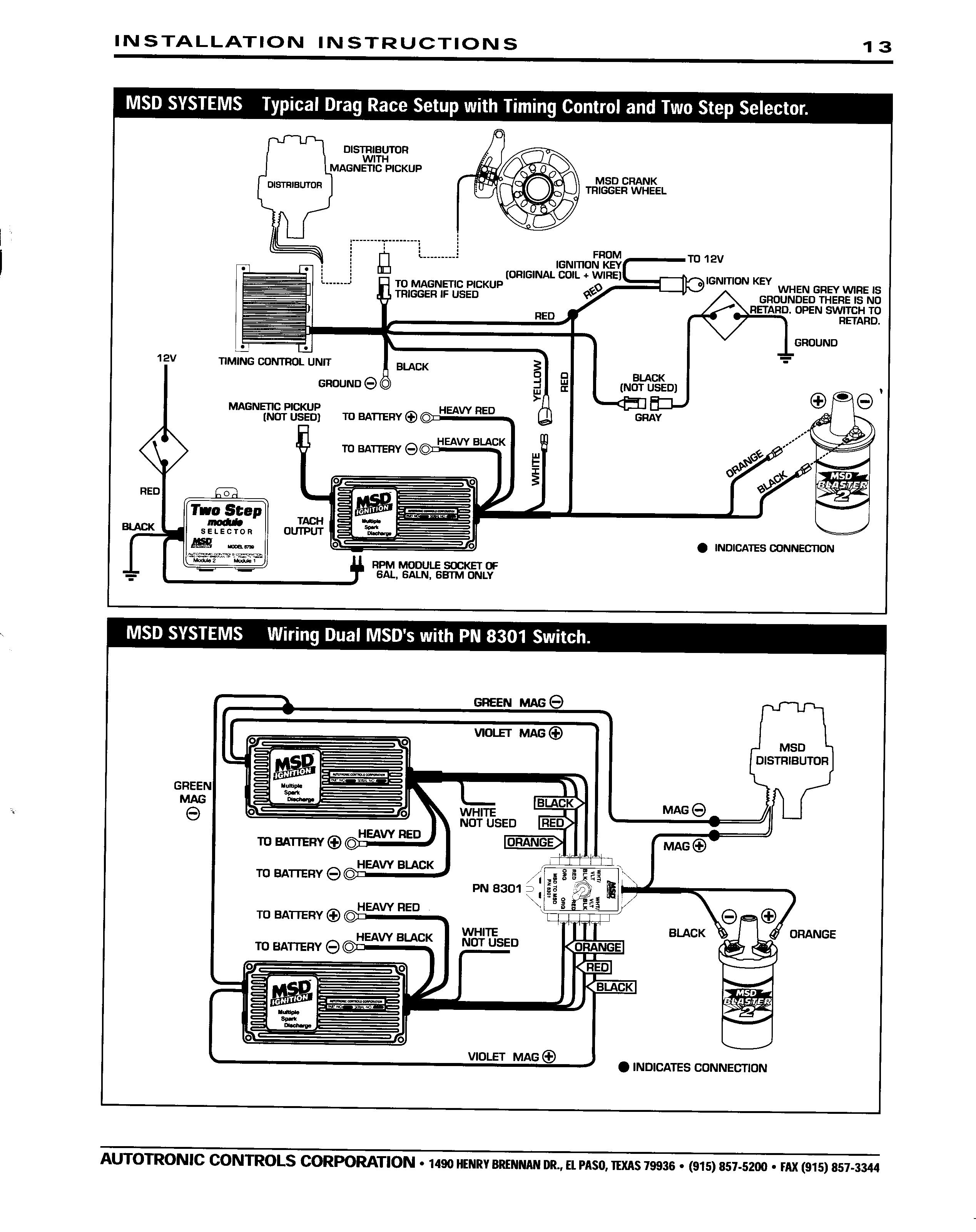 Wiring Diagram Together With Ford Msd 6a Ignition Wiring Diagram On