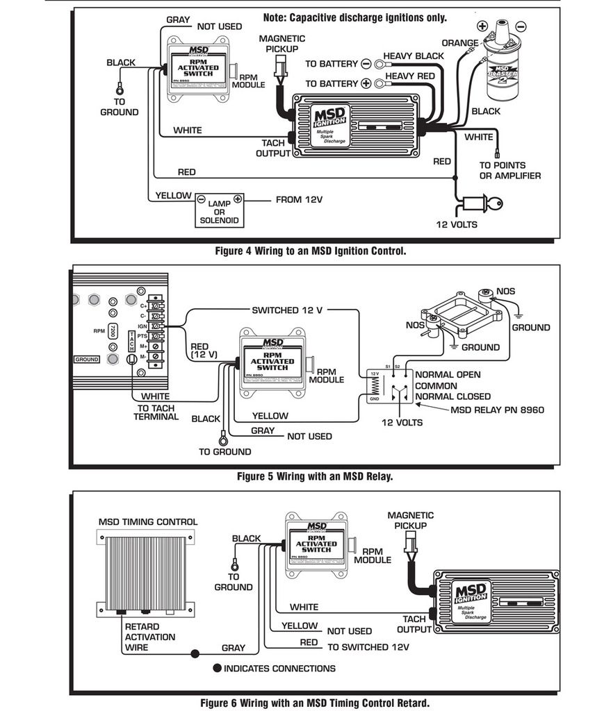 msd 8950 wiring diagram wiring diagram directory MSD Ignition Wiring Diagram Chevy