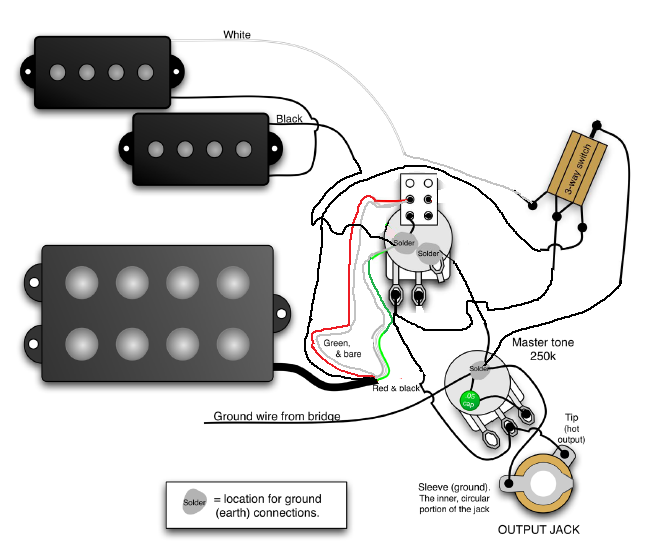 Musicman Bass Wiring Diagram