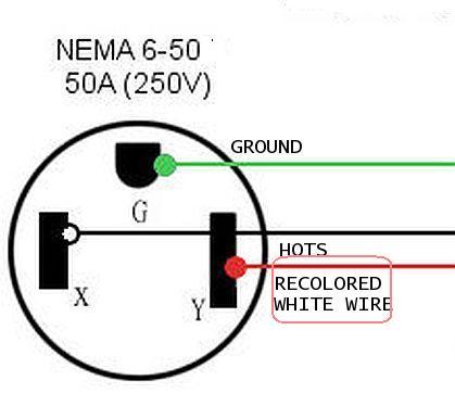 Nema 6-50 Wiring