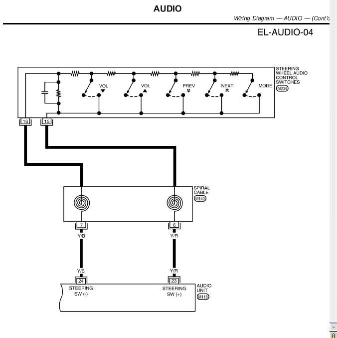 Nissan 28185 Wiring Diagram on