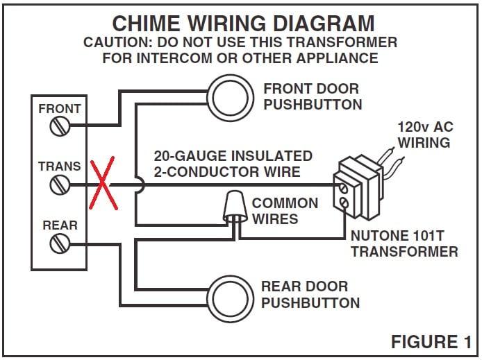Nutone Wired 16v Doorbell Wiring Diagram