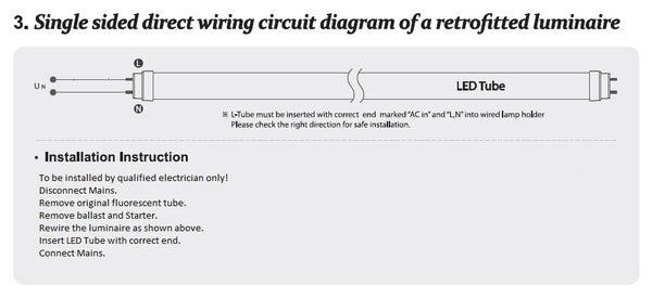Osram Led Tube Wiring Diagram on