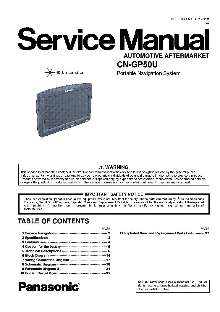 Panasonic Cn