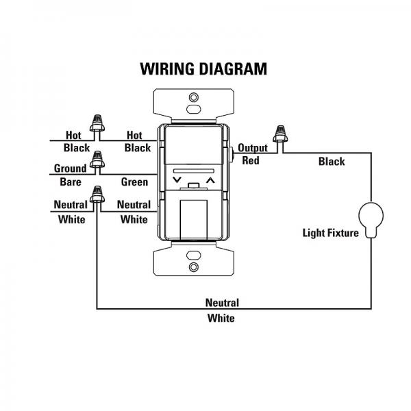 Wiring Diagram For Dimmer Switch from diagramweb.net