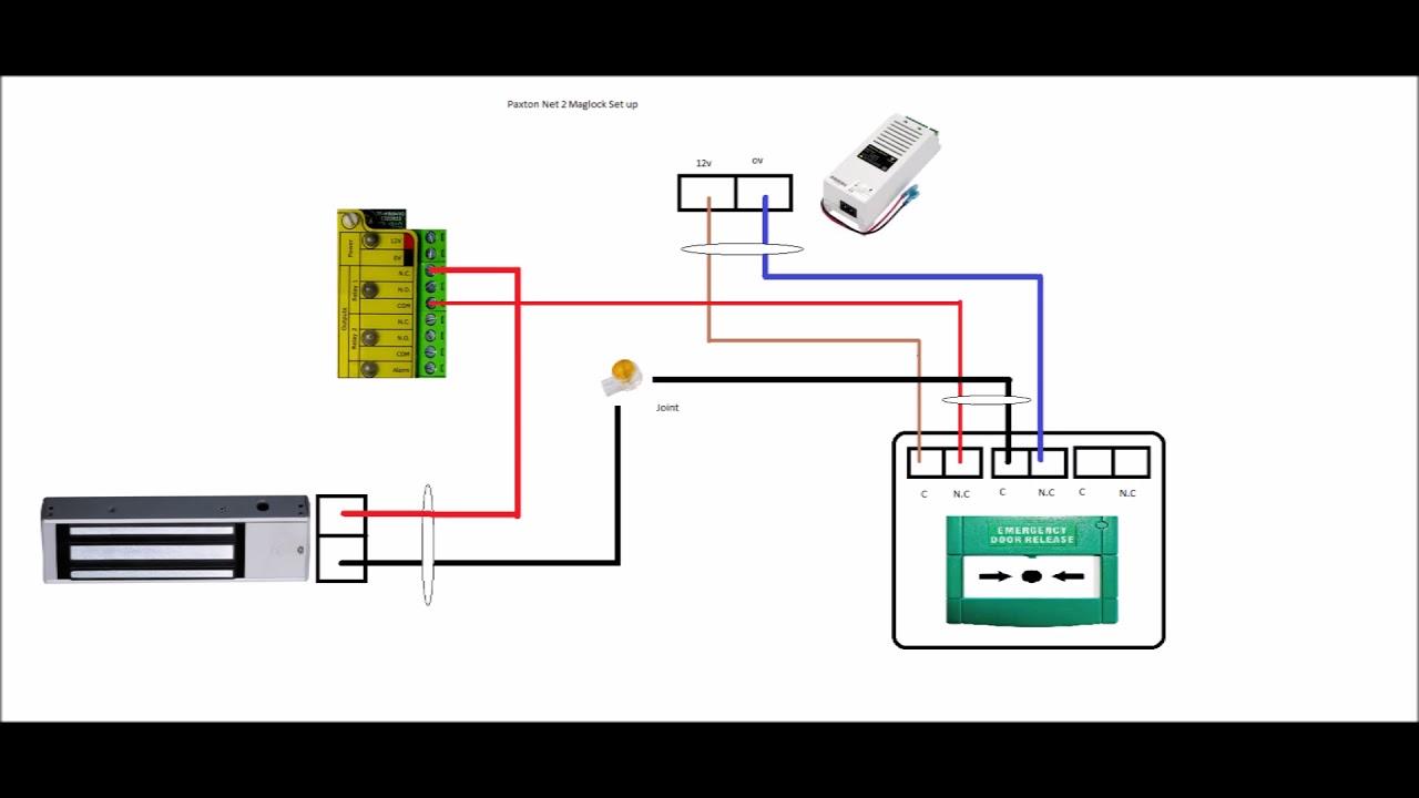 Diagram Paxton Door Access Wiring Diagram