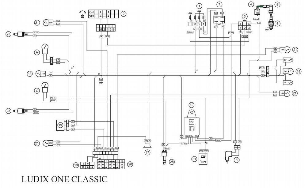 Pleasant Peugeot Ludix Snake Wiring Diagram Basic Electronics Wiring Diagram Wiring Digital Resources Attrlexorcompassionincorg