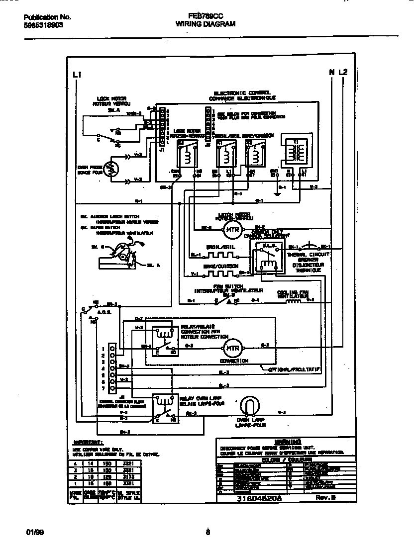 Philips Bodine B50 Wiring Diagram
