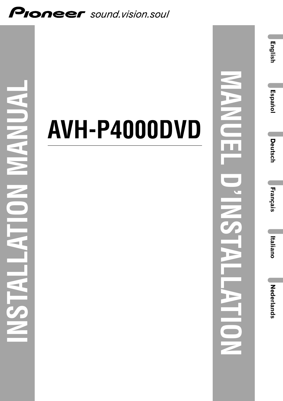 Pioneer Avh P5700Dvd Wiring Diagram from diagramweb.net