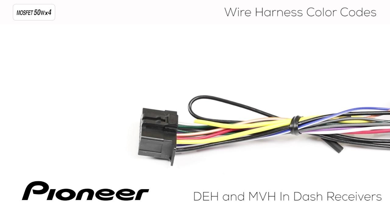 Pioneer Mvh P8200bt Wiring Diagram