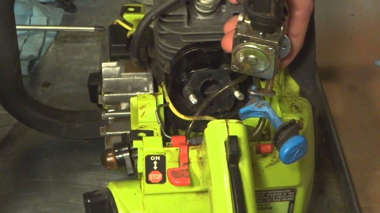 Poulan Chainsaw Carburetor Fuel Line Diagram